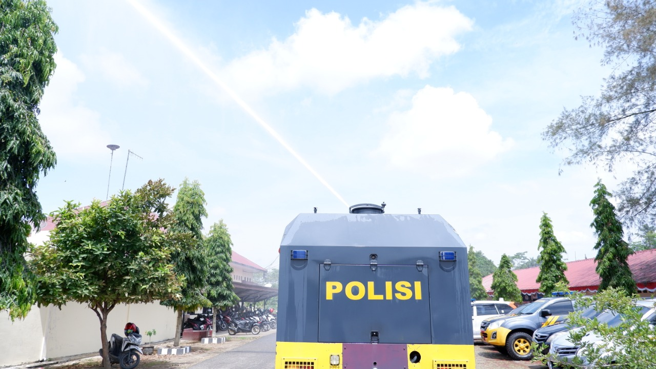 Tekan Penyebaran virus Covid -19, Polres Aceh Utara Turunkan AWC
