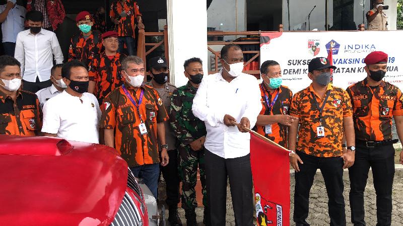 Pemuda Pancasila Turunkan Relawan Penanganan Covid -19 di Banda Aceh