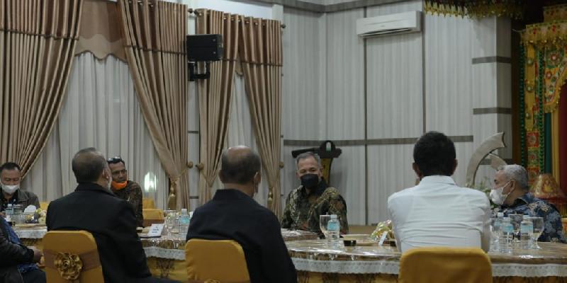Bertemu Gubernur Aceh, Sesjen Wantannas: Keamanan Sudah Sangat Kondusif