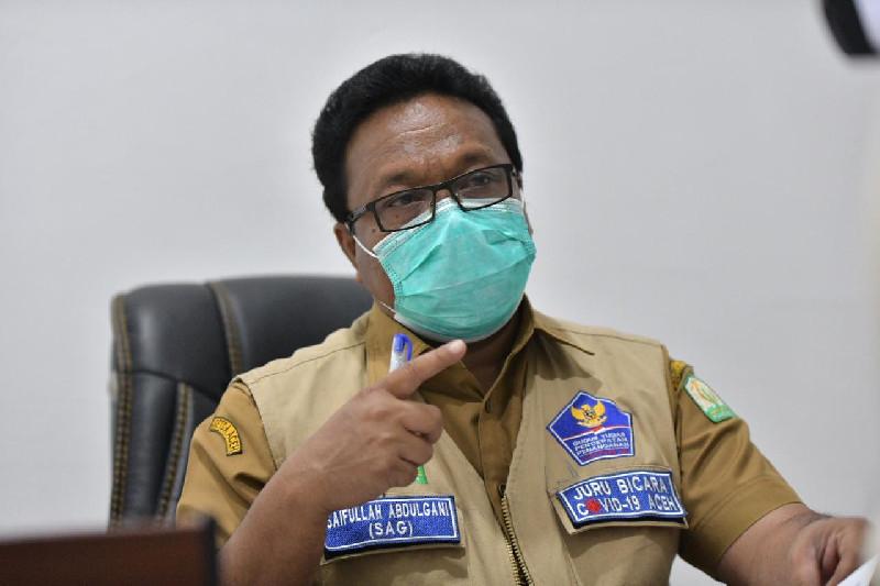 Empat Ribu Dirawat, 557 Pasien Covid-19 Sembuh Lagi di Aceh