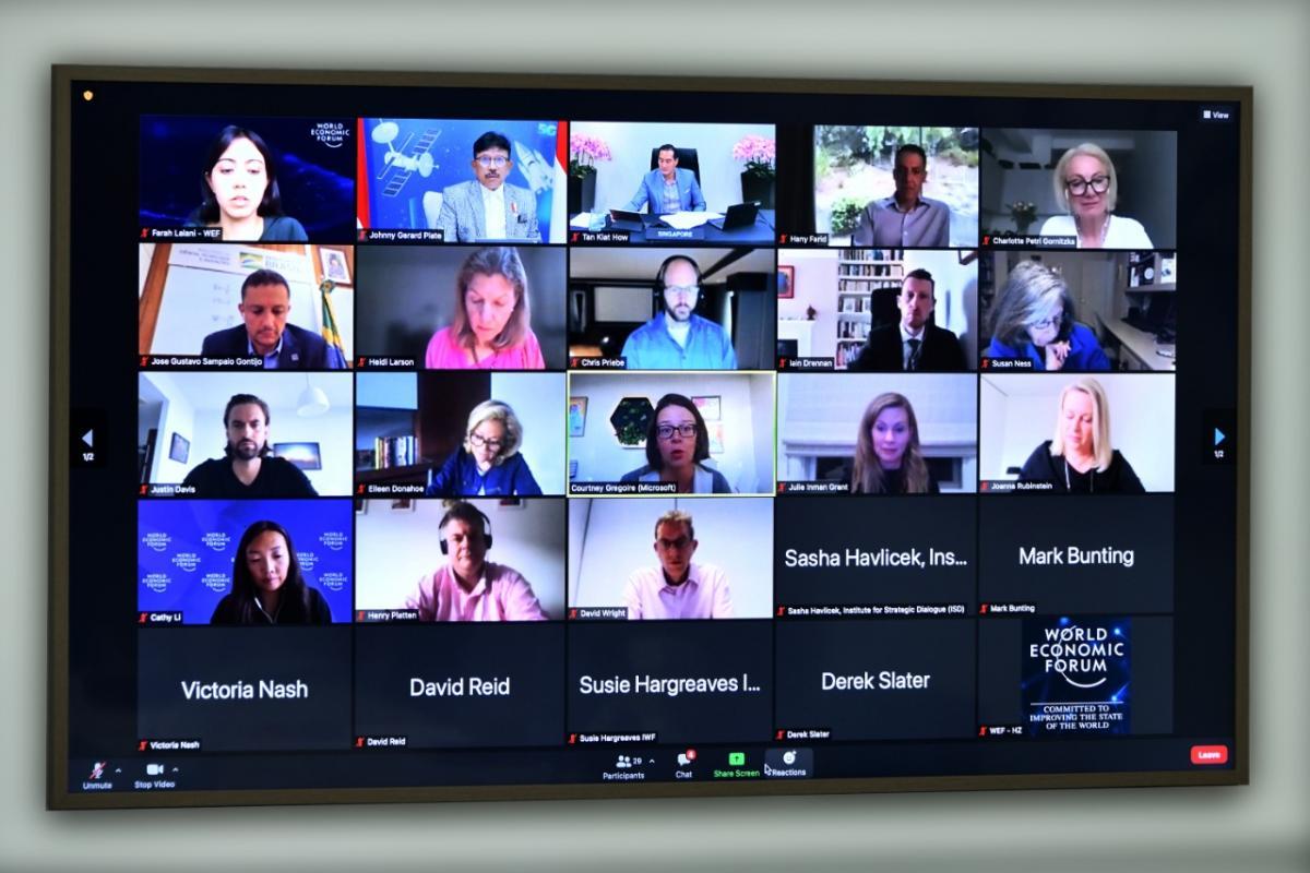 Bahas Keamanan Digital, Menkominfo Ajak Kolaborasi Multipihak Lindungi Warganet