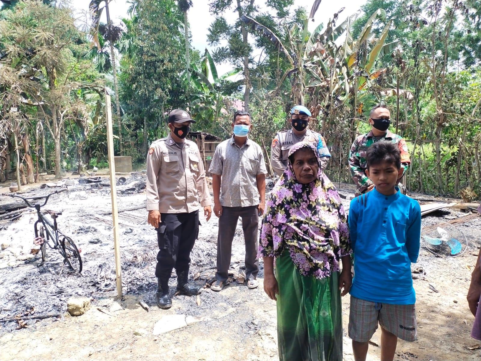 Pria Gangguan Jiwa di Aceh Utara Bakar Rumah Sendiri