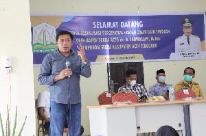 Kadisdik Aceh Ultimatum Kepala Sekolah Segera Lakukan Vaksinasi Siswa