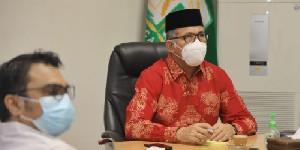 Gubernur Aceh Ikut Pertemuan Virtual Bahas Evaluasi PPKM