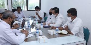 Pemerintah Aceh Rapat Guna Membahas Pengolahan Limbah Medis B3 dan Covid-19