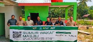 Global Wakaf-ACT Hadirkan Sumur Wakaf di Mesjid Sarah Teubee
