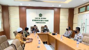Jalin Kemitraan dengan Kanwil, Polda Aceh Siap Fasilitasi Vaksinasi Siswa