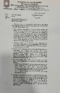 Mendagri Tegur Keras Bupati Aceh Tamiang Soal Mutasi Kepala Disdukcapil