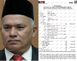 Daftar Rincian Kekayaan Sekda Aceh Taqwallah
