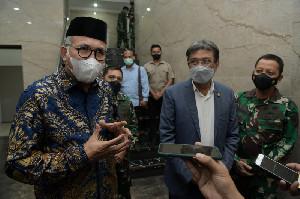Gubernur Aceh Bersama Pangdam dan Rektor USK Bahas Pemanfaatan Bantaran Sungai