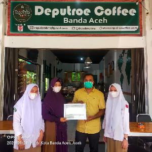 Siswa SMK-PP Saree Selesai PKL di Deputroe Coffee