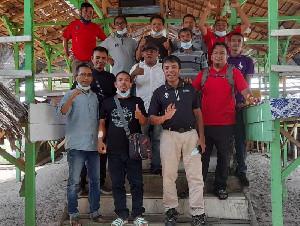 AJI Bireuen Gelar Raker di Laut Kuala Raja, Ini Hasilnya