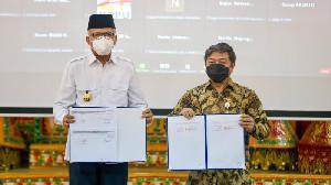 Pemerintah Aceh MoU dengan KPPU, Gubernur Nova: Islam Larang Monopoli Usaha
