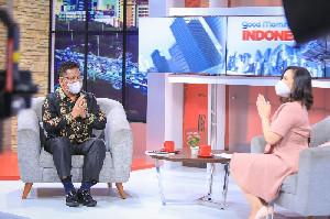 Tampil di Good Morning Indonesia MNC News, Aminullah Paparkan Kiat Perangi Renternir