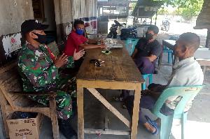 Coffe Morning Babinsa Koramil 05/Mesjid Raya Bersama Masyarakat Binaan