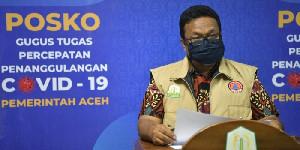 241 Pasien Covid-19 Sembuh, Kasus Baru di Aceh Bertambah 139 Orang