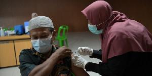 Vaksinasi Covid-19 Hingga Hari ke-57 Capai 69.730 Orang