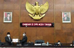 Pemerintah Aceh Terima Dokumen Aspirasi Masyarakat Hasil Reses II Anggota DPRA