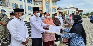 163 ASN Aceh Utara Terima SK Kenaikan Pangkat dan Pensiun