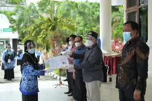 173 ASN Aceh Selatan dan Abdya Terima SK Kenaikan Pangkat dan Pensiun