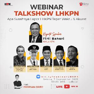 KPK Talkshow, Apa Susahnya Lapor LHKPN Secara Akurat dan Tepat Waktu?