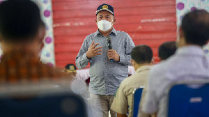 Kunjungan Sekda Aceh ke Simeulue Instruksikan Sukseskan Vaksinasi