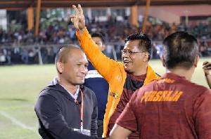 Skuad Persiraja Menang dari PSS, Aminullah Ucapkan Selamat