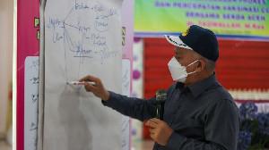 Sekda Aceh Dorong Camat, Kepala Puskesmas dan Kepsek Simeulue Sukseskan Vaksinasi