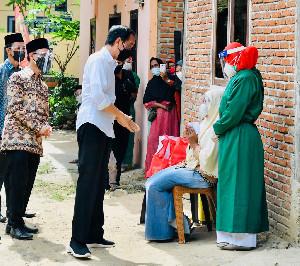 Presiden Jokowi Akhiri Kunjungan Kerja di Aceh