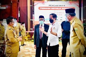 Presiden Jokowi: Kota Banda Aceh Tertinggi Vaksinasi Se-Aceh
