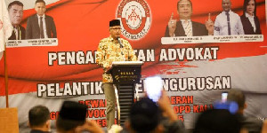 Gubernur Aceh Hadir Dalam Pelantikan Pengurus DPD KAI Aceh Periode 2020-2025