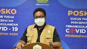 Pasien Covid-19 Sembuh Bertambah 270 Orang, Terbanyak Warga Banda Aceh