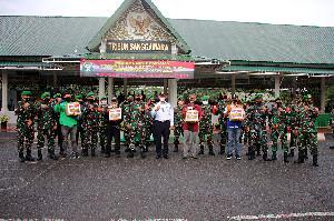 Dandim Lantik Keanggotaan Mitra Kodim 0101/Aceh Besar