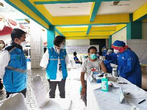 PLN Vaksinasi 1.574 Petugas, Siap Amankan Kelistrikan PON XX Papua
