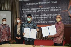 Siap Tangani Persoalan Sampah, Pemerintah Aceh Kerjasama dengan PT SBI