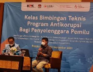 Gubernur Aceh Beri Sambutan Pada Bimtek Anti Korupsi KPK, Dosen Fisip USK Jadi Narasumber