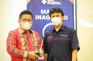 Aminullah Terima Penghargaan Indonesia Visionary Leader 2021 dari Sindonews