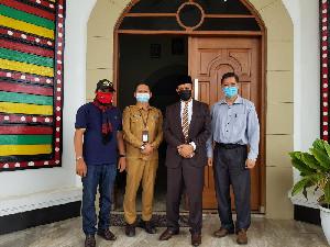Wiedjaja Berkungjung ke Gayo Lues Temui Bupati Haji Amru, Ada Apa?