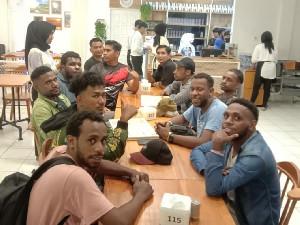 Korem 011/Lilawangsa Jalin Silaturahmi Dengan Mahasiswa Papua di Aceh