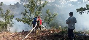 4 Hektar Lahan  di Bener Meriah Terbakar, TNI dan Damkar  Berhasil Padamkan Api