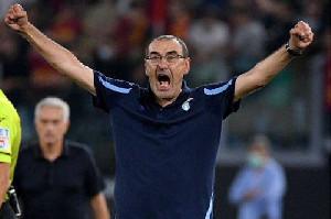 Liga Italia: Lazio Menang Saat Derby della Capitale jilid Pertama