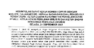 Berikut Penetapan Pagu Anggaran KPU, Bawaslu dan DKPP