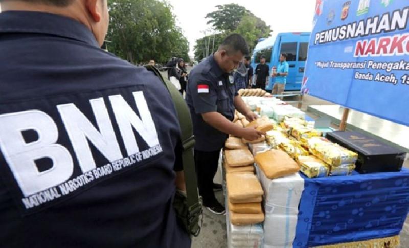 Peredaran Narkoba di Aceh Tak Kunjung  Berhenti Meski Pandemi