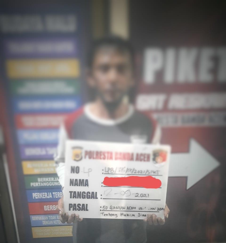 Satrekreskrim Banda Aceh Ringkus EFR Pelaku Pencabulan Anak Dibawah Umur