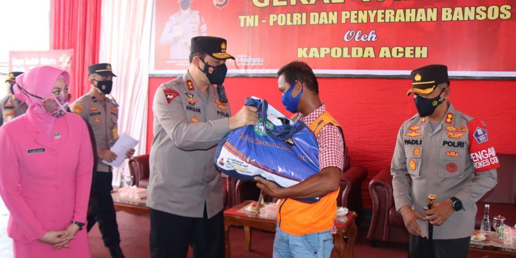 Kapolda Aceh Harap Target Harian Vaksinasi bisa Tercapai