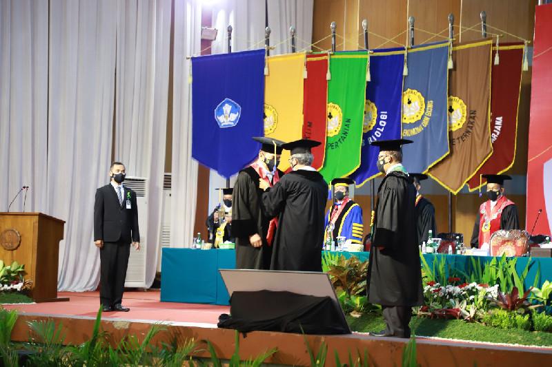 Jaksa Agung ST Burhanuddin Dikukuhkan Sebagai Guru Besar Tidak Tetap Unsoed