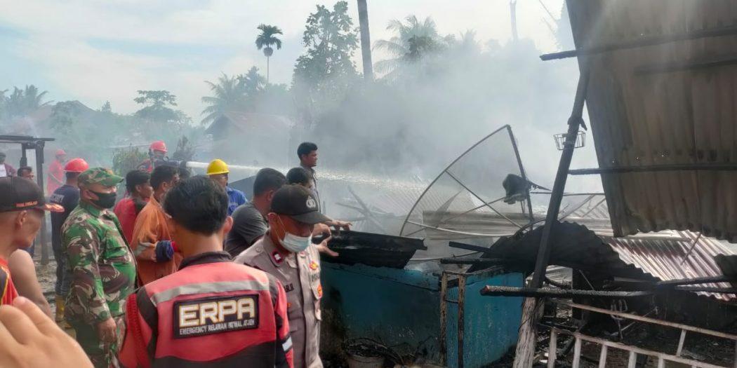 Satu Rumah di Aceh Utara Ludes Dilahap Si Jago Merah