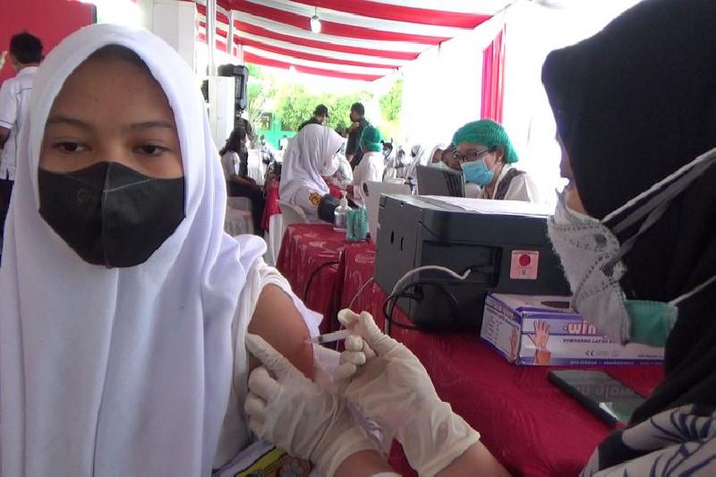 Capaian Vaksinasi Sekolah-Sekolah Yang Ada di Aceh, Simak