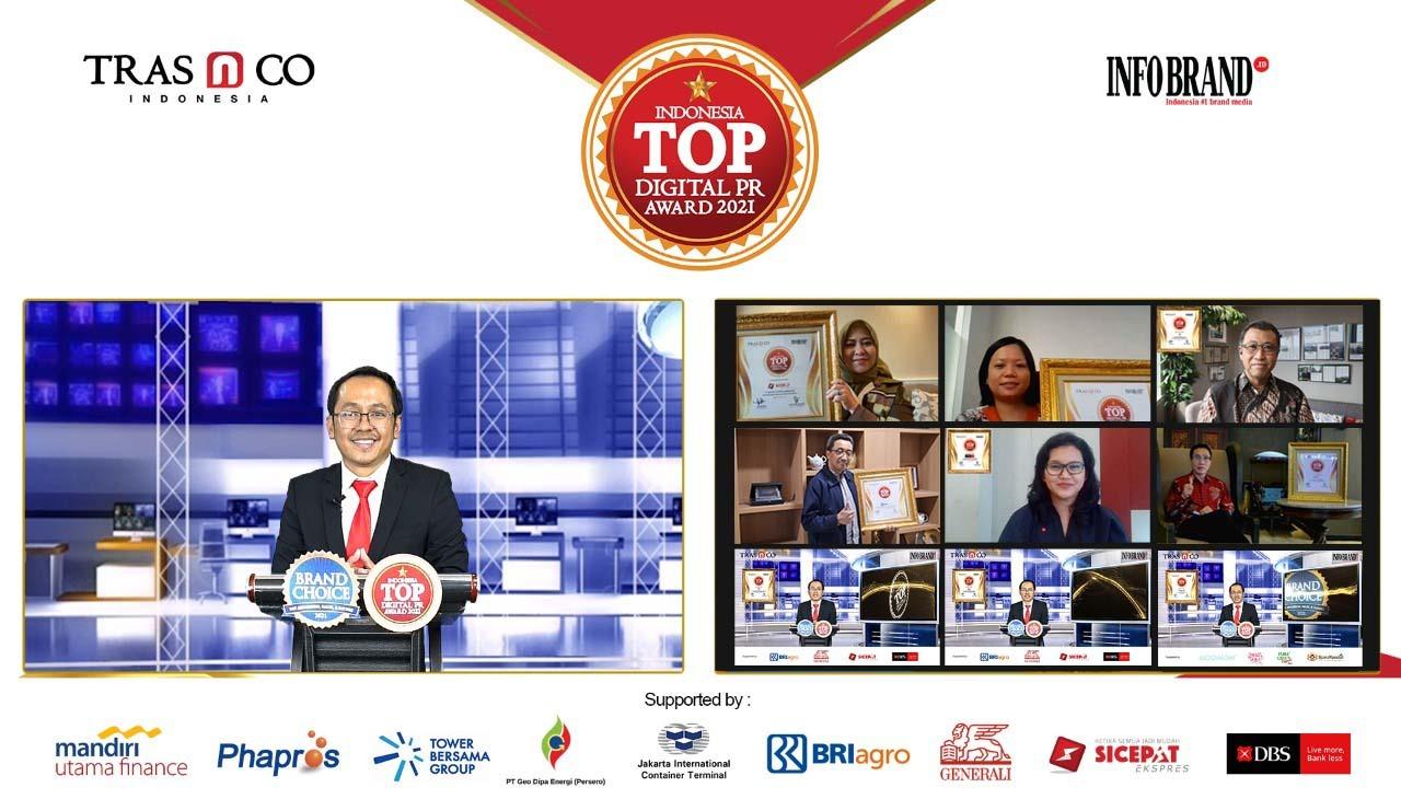 Perusahaan Peraih Top Digital PR Award 2021