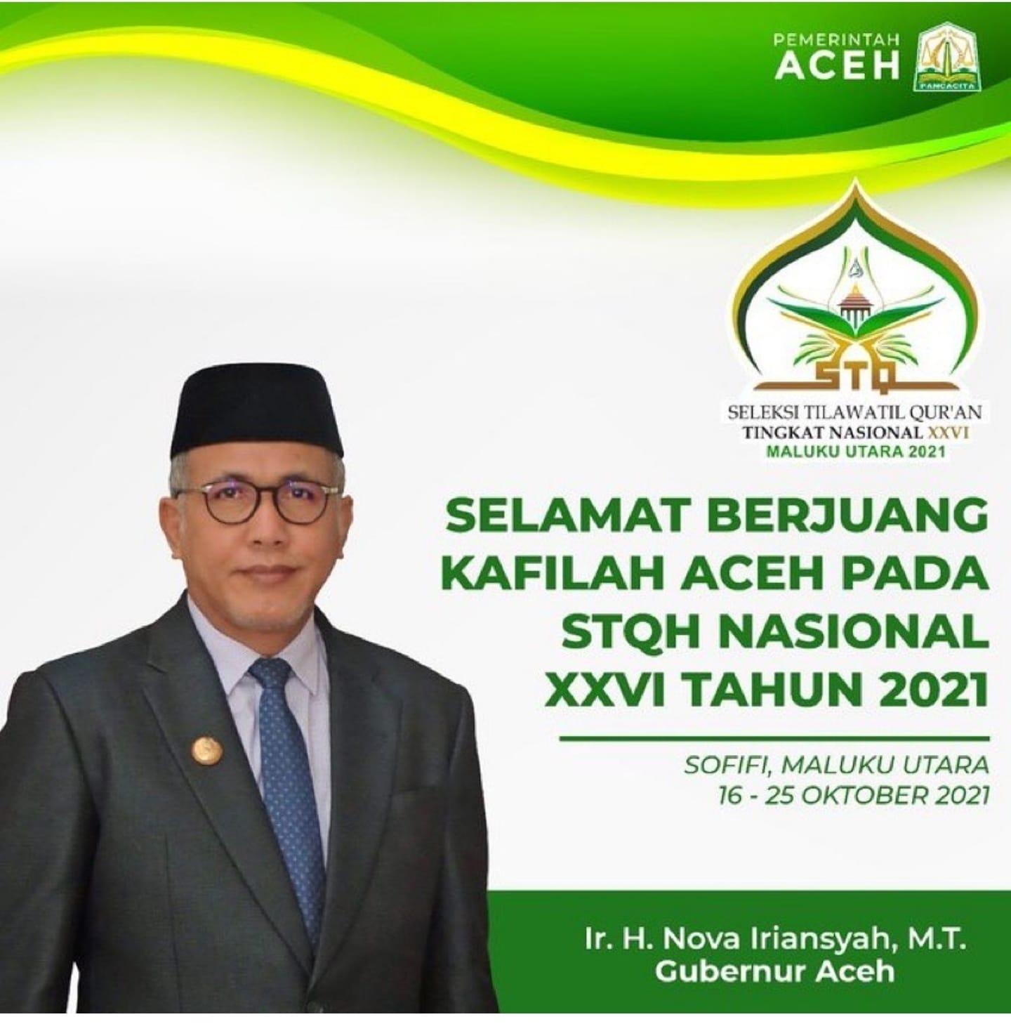 pemerintah aceh STQH 2021